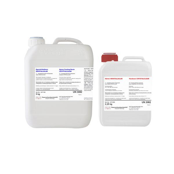 Эпоксидная смола для заливки CRYSTAL-CLEAR + Отвердитель CRYSTAL-CLEAR